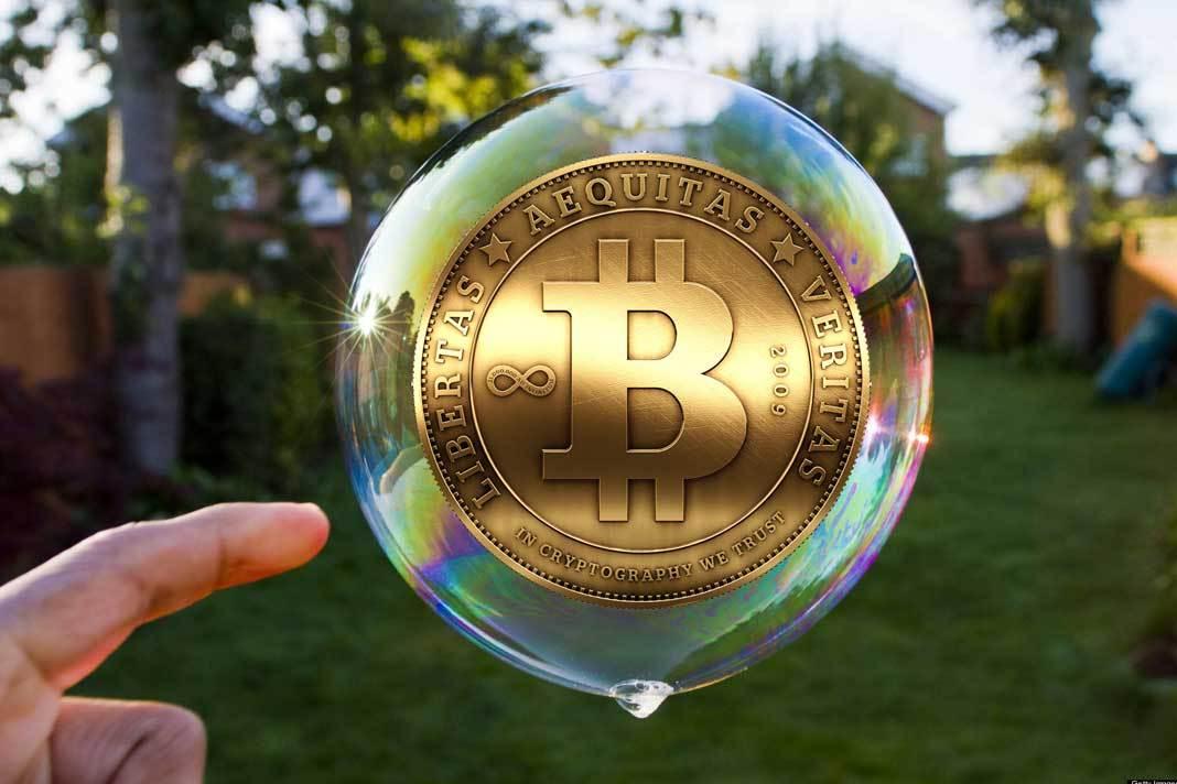 Bitcoin, la bolla è scoppiata !